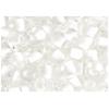 Seedbead 2/0 Crystal White Shiny Terra Color